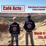 Café Actu' 4L TROPHY La 4L aux ailes d'Or – 17/04 à l'ICR à 12h