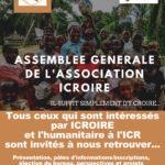 Assemblée générale de l'asso ICROIRE