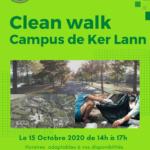 Clean Walk IC'VERT x Subway sur le campus