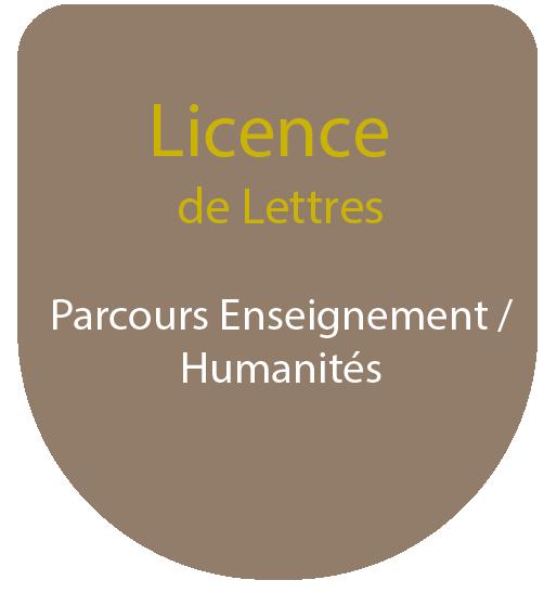 Licence de Lettres : Parcours Enseignement Culture Générale