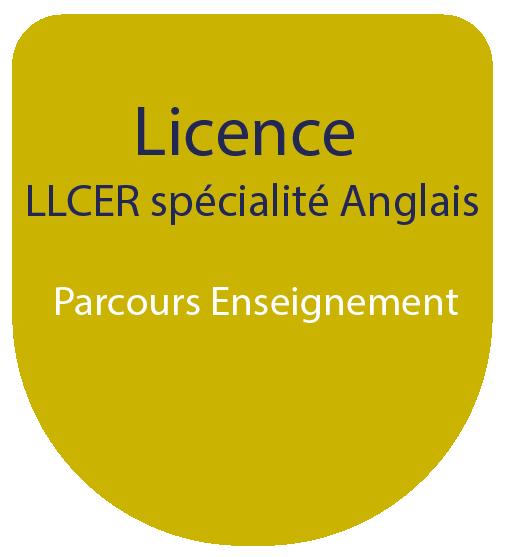 Licence LLCE spécialité Anglais : Parcours Enseignement